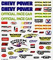 Pinewood Derby NASCAR Decal -- Pinewood Derby Decal and Finishing -- #p317