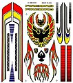 Pinewood Derby Custom Design Decal -- Pinewood Derby Decal and Finishing -- #p318