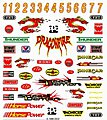 Pinewood Derby Formula Decal -- Pinewood Derby Decal and Finishing -- #p319