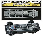 Pinewood Derby 4 Wheel Drive Chassis Weight -- Pinewood Derby Car Weight -- #p3910