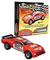 Pinewood Derby Muscle Racer Premium Kit -- Pinewood Derby Car -- #p3948