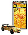 Pinewood Derby Fire Starter Custom Body Skin -- Pinewood Derby Decal and Finishing -- #p3977