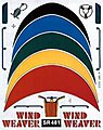 SailBoat Racer Dry Transfer Wind Weaver