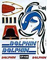 SailBoat Racer Dry Transfer Dolphin