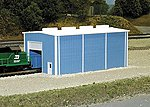 Small Enginehouse -- N Scale Model Railroad Building -- #8002