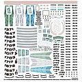 Star Trek Supplemental Starship Decal Set -- Science Fiction Plastic Model -- 1/1000 Scale -- #mka2