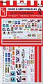 Big Rig Trucking Graphics Decals -- Plastic Model Vehicle Decal -- 1/25 Scale -- #mka22