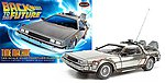 Back to the Future Time Machine -- Plastic Model Car -- 1/25 Scale -- #pol911