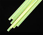 Fluorescent Rod 1/8 (7) -- Model Scratch Building Plastic Rods -- #90263