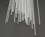 Rod Acrylic Clear 1/16 (40) -- Model Scratch Building Plastic Rods -- #90291