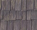 Wood Shake Shingles Roofing Patterned Sheets -- Model Railroad Scratch Supply -- #91658