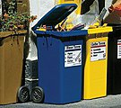 Garbage Bins blue 2/ - G-Scale (2)