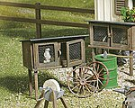 Rabbit Stall - G-Scale