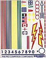 Primaries Decal -- Pinewood Derby Decal and Finishing -- #10024