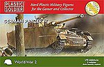 WWII Panzer IV Tank (3) -- Plastic Model Tank Kit -- 1/72 Scale -- #7206