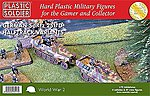 WWII German SdKfz 251/D Halftrack (4) & 37 Crew -- Plastic Model Halftrack Kit -- 1/72 -- #7224