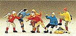 Mountain Climbers (6) -- Model Railroad Figures -- HO Scale -- #10190