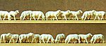Sheep (18) -- Model Railroad Figures -- HO Scale -- #14161