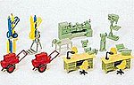 Workshop Equipment -- Model Railroad Building Accessory -- HO Scale -- #17185