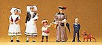 Group from Spreewald -- Model Railroad Figures -- HO Scale -- #24608