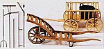 Farming Tools -- Model Railroad Building Accessory -- G Scale -- #45212