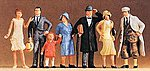 1925 Standing Passers-By -- Model Railroad Figures -- O Scale -- #65300