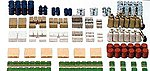Assorted Cargo -- N Scale Model Railroad Building Accessory -- #79566