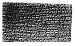 Random Stone Retaining Wall -- Model Railroad Miscellaneous Scenery -- HO Scale -- #111