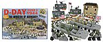 54mm D-Day Invasion of Normandy Diorama Playset (114pcs) (Boxed) (BMC Toys)