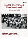 Panzer Tracts No.1-1 PzKpfw I Kleintraktor to Ausf.B -- Military History Book -- #11