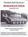 Panzer Tracts No.16-1 Bergepanther Ausf D/A/G -- Military History Book -- #161
