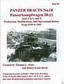 Panzer Tracts No.18 PzKpfw 38(t) Ausf A-G/S -- Military History Book -- #18