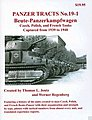 Panzer Tracts No.19-1 Beute-PzKpfw Czech, Polish & French -- Military History Book -- #191