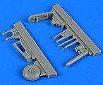Fw190F8 Tail Wheel for Revell -- Plastic Model Aircraft Accessory -- 1/32 Scale -- #32185