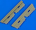 Dornier Do17Z Undercarriage Covers for Airfix -- Plastic Model Aircraft Accessory -- 1/72 -- #72488