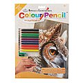 CPN Sepia Owl -- Pencil By Number Kit -- #cpn19