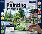 PBN Duck Feeding 15x11-1/4 -- Paint By Number Kit -- #pal11