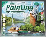 PBN Windmill/River 15x11-1/4 -- Paint By Number Kit -- #pal7