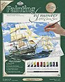 PBN Canvas Sailing Ships 11x14 -- Paint By Number Kit -- #pcl1