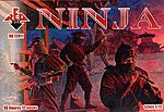 Ninja Soldiers (48) -- Plastic Model Military Figure -- 1/72 Scale -- #72011