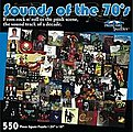 Sounds of the 70's Album Covers Collage Puzzle (550pc)