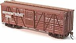 S-40-5 Stock Car (Ready to Run) Southern Pacific Kit -- HO Scale Model Railroad -- #39002
