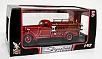 1939 American LaFrance B550RC Fire Engine Truck -- Diecast Model Truck -- 1/43 Scale -- #43007