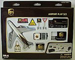 UPS Airport Die Cast Playset (12pc Set)