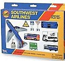 Southwest Airlines Die Cast Playset (13pc Set)