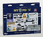 NYPD Police Die Cast Playset (13pc Set)