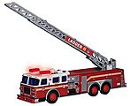 FDNY Fire Ladder Truck w/Lights & Sound, 13'' Long (Plastic)