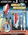 Space Shuttle & 4 Rockets Plastic Playset