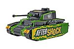 Aftershock Panzer Tank -- Snap Tite Plastic Model Vehicle Kit -- 1/48 Scale -- #851759