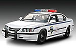 2005 Impala Police Car -- Snap Tite Plastic Model Vehicle Kit -- 1/25 Scale -- #851928